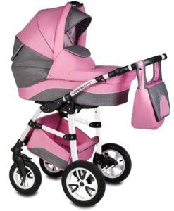 Carucior Flamingo Easy Drive 3 in 1 – Vessanti – Pink