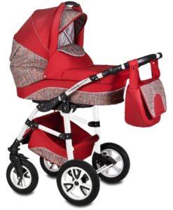 Carucior Flamingo Easy Drive 3 in 1 – Vessanti – Red