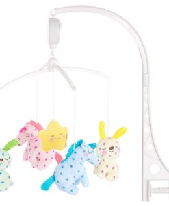 Carusel muzical pentru patut Chipolino Little Horses
