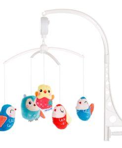 Carusel muzical pentru patut Chipolino Lovely Owls