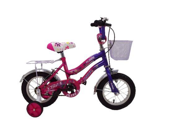 Bicicleta MyKids BMX 12 Pink Cadru Fata