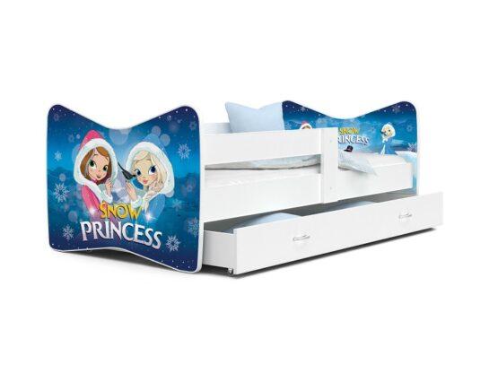 Patut Tineret MyKids Tomi  63 Snow Princess-160×80