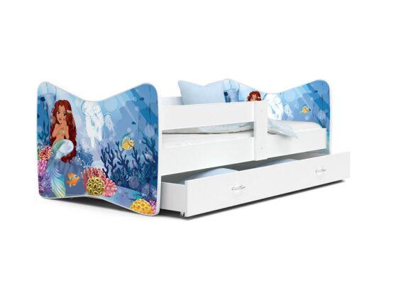 Patut Tineret MyKids Tomi 64 Little Mermaid-160×80