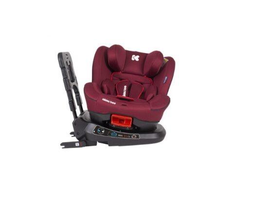 Scaun auto 0-25 kg Twister Red cu Isofix