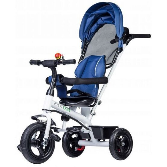 Tricicleta Ecotoys JM-068-11H – Albastra