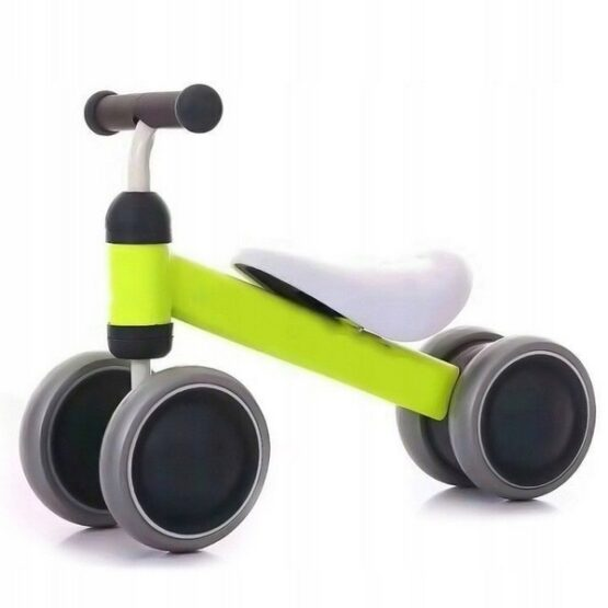 Bicicleta fara pedale Ecotoys JM-118 – Verde – Resigilat