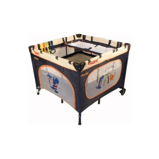 Tarc de joaca ARTI LuxuryGo Beige/Navy Blue