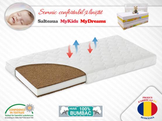 Saltea Fibra Cocos MyKids MyDreams II 120x60x12 (cm)
