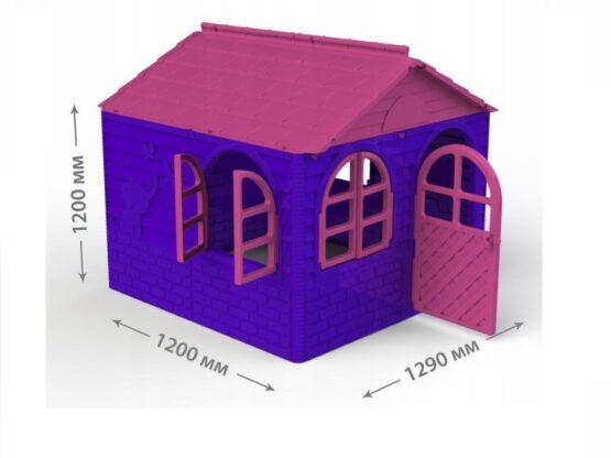 Casuta de joaca MyKids 02550/1 Pink/Violet – Mid