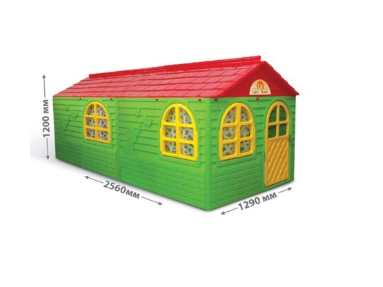 Casuta de joaca MyKids 02550/23 Green/Red – Big