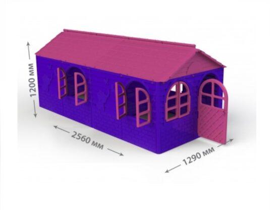 Casuta de joaca MyKids 02550/20 Pink/Violet – Big