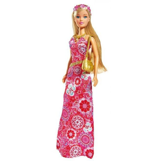 Papusa Simba Steffi Love Flower Party 29 cm roz