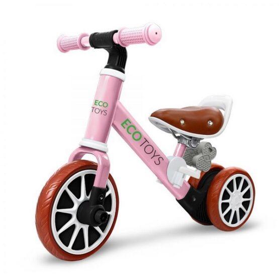 Bicicleta fara pedale Ecotoys LC-V1307 – Roz