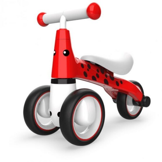 Bicicleta fara pedale ECOTOYS Buburuza LB1603 – Rosu