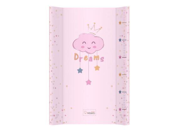 Saltea De Infasat Bebe Cu Intaritura 70×47,5 Klups Clouds Pink 407