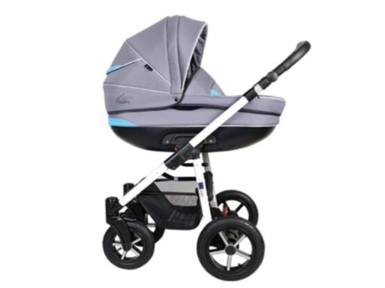 Carucior copii 3 in 1 MyKids Baby Boat – Bb/224 Gray-Blue