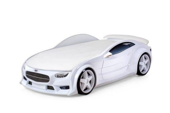 Pat masina tineret MyKids NEO Mercedes Alb