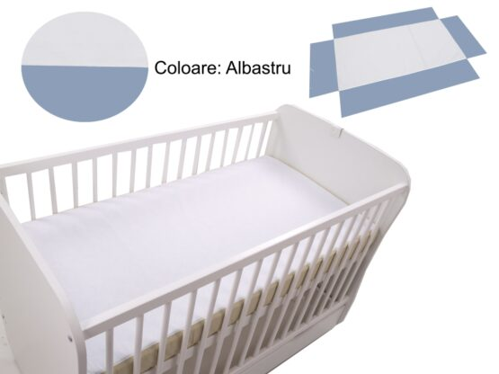 Cearceaf Klups fara elastic Blue 120×60