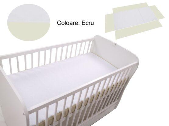 Cearceaf Klups fara elastic Ecru 120×60