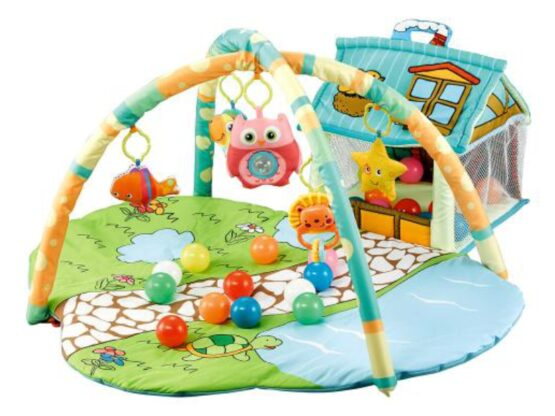 Covoras de joaca Cangaroo Happy Farm Green