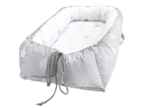 Baby Nest Klups Star Miracle Gri K090