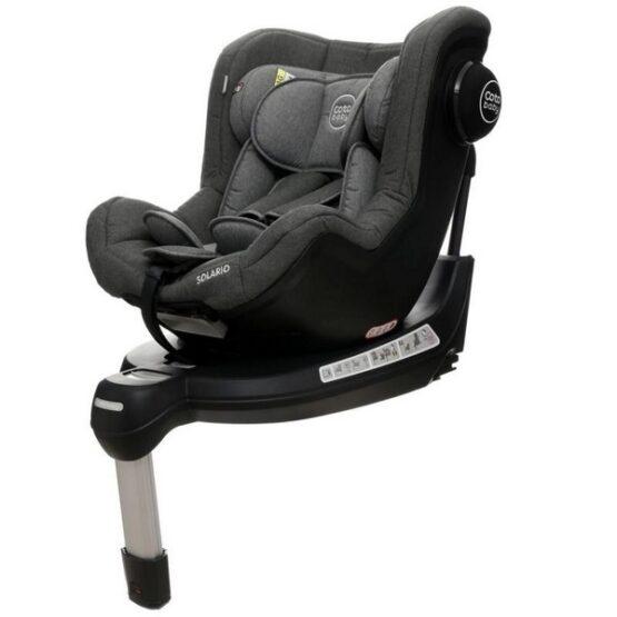 Scaun auto Coto Baby Solario Melange Grey 360 grade ISOFIX 0-18 Kg