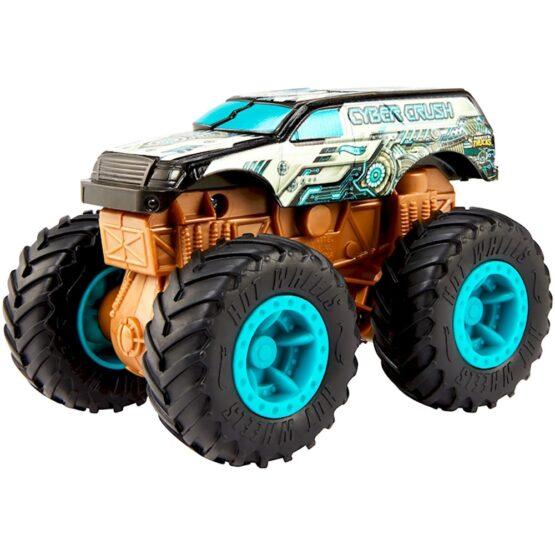 Masina Hot Wheels by Mattel Monster Trucks Cyber Crush