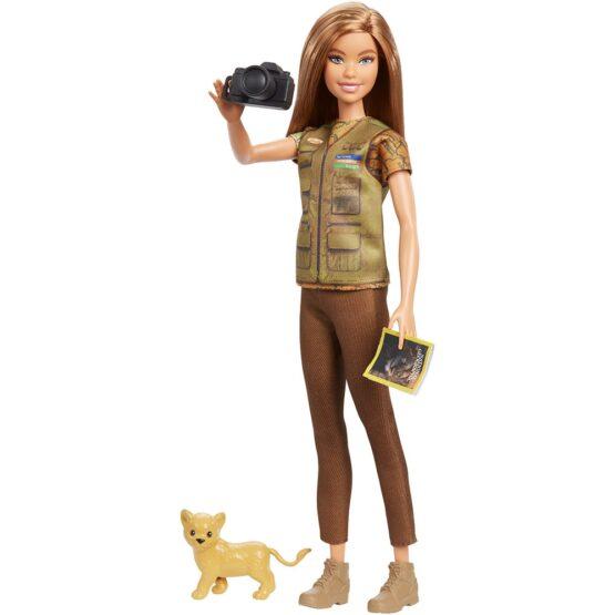 Papusa Barbie by Mattel National Geographic Fotojurnalista