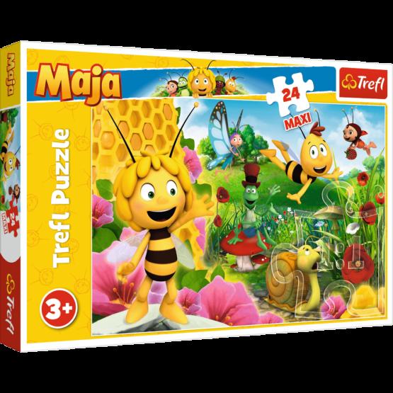 Puzzle Trefl Maxi Lumea lui Maja 24 piese