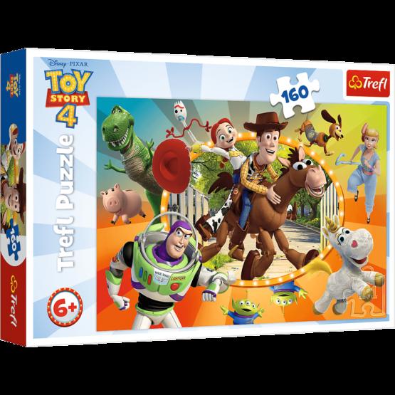Puzzle Trefl Disney Toy Story, In lumea jucariilor 160 piese