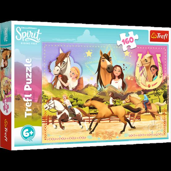 Puzzle Trefl DreamWorks Spirit, Cele trei prietene 160 piese