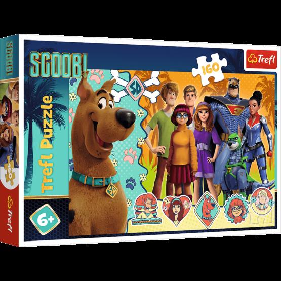 Puzzle Trefl Scooby Doo, Scooby in actiune 160 piese