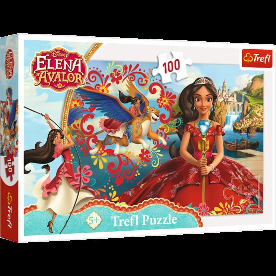 Puzzle Trefl Disney Elena Avalor, Magia din Avalor 100 piese