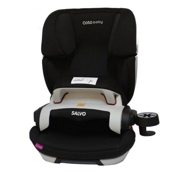 Scaun auto Coto Baby Salvo ISOFIX 9-36 Kg Black
