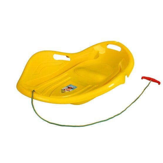 Sanie copii Marmat Shell Premium Comfort – Galben