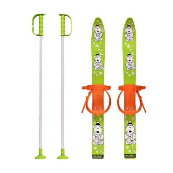 Schiuri copii Marmat 70 cm – Verde