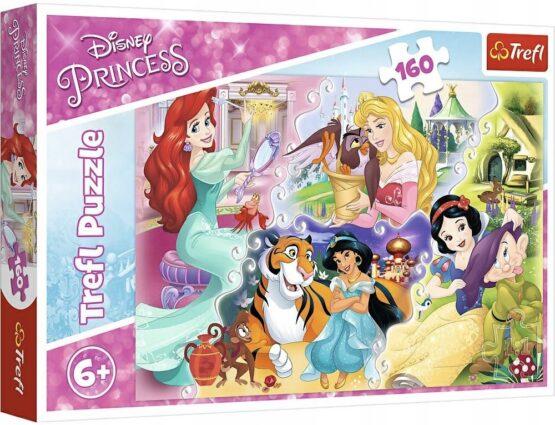 Puzzle Trefl Disney Princess, Printesele si prietenii lor 160 piese